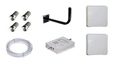 Комплект для усиления сотовой связи